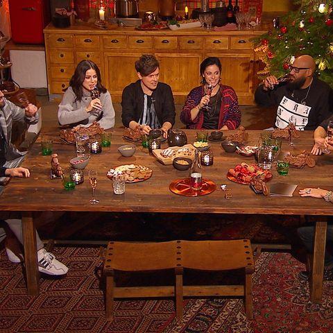 V.l.: Mark Forster, Gentleman, Lena, Michael Patrick Kelly, Stefanie Kloß, Moses Pelham, Sascha Vollmer und Alec Völkel