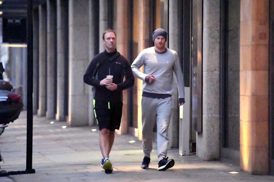 Prinz Harry beim Sport