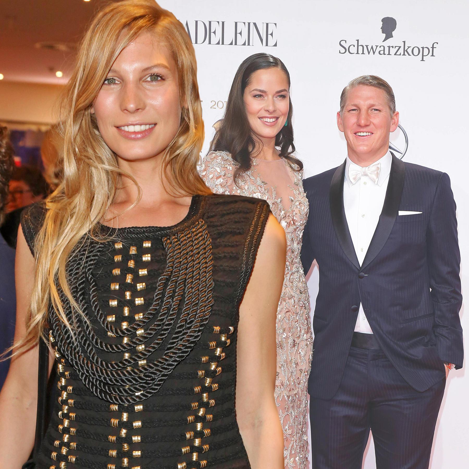 Sarah Brandner, Ana Ivanovic + Bastian Schweinsteiger
