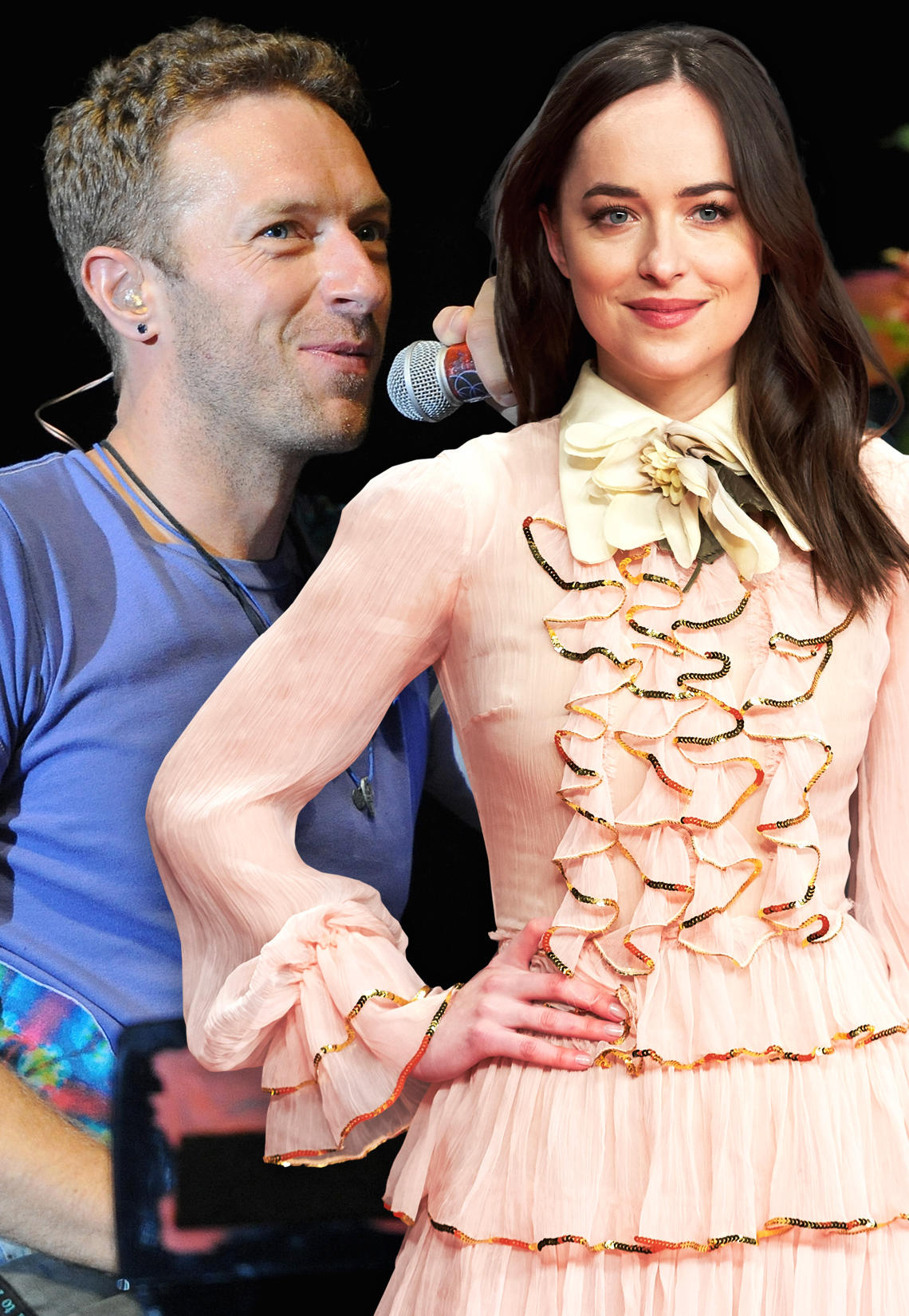 Dakota Johnson + Chris Martin: Zusammen in Paris erwischt ...