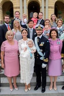 Taufgäste bei Prinz Alexander 2016