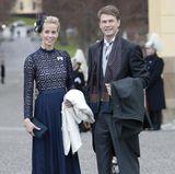 Hofchefin Karolin A. Johansson und Hofmarschall Lars-Erik Tindre