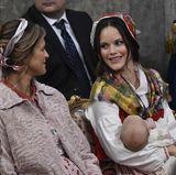 Prinzessin Madeleine gehört zu den Paten des kleinen Prinzen.