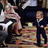 Prinz Alexander macht sie auf den Weg, die Umgebung zu erkunden.