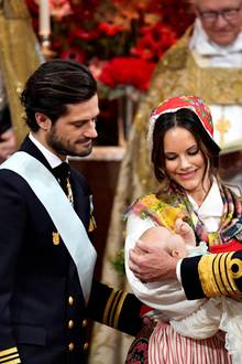 Prinz Carl Philip, Prinzessin Sofia, Prinz Gabriel, König Carl Gustaf