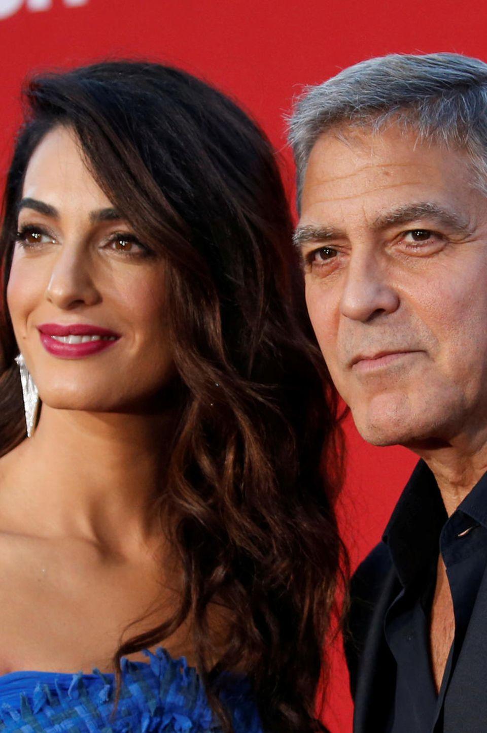 Amal + George Clooney