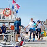2. Dezember 2017  Willkommen an Bord! König Willem-Alexander und Königin Máxima wollen bei ihrem Staatsbesuch in Saba auch die Wasserseiteder karibischen Insel kennenlernen.