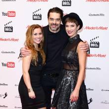 Sarah Tkotsch, Raphael Vogt und Isabell Horn