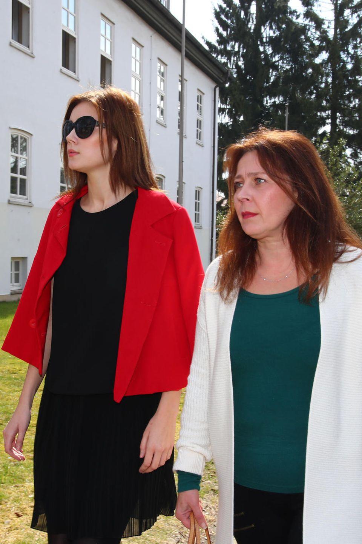 Nathalie Volk mit ihrer Mutter Viktoria