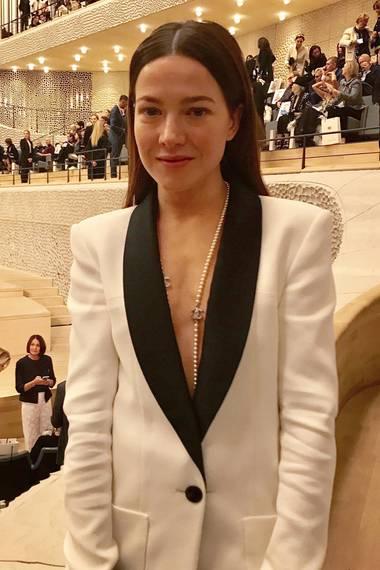 Wie immer atemberaubend schön: Hannah Herzsprung