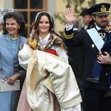 Königin Silvia, Prinzessin Sofia, Prinz Carl Philip