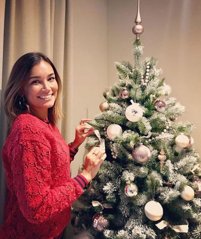 """Mit diesem schönen Bild wünscht Jana Ina Zarrella allen einen """"Happy Nikolaus""""."""