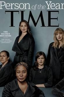 """8. Dezember 2017  Das """"Time Magazine"""" hat die Menschen hinter der #MeToo-Bewegung, diedas Schweigen über sexuelle Übergriffe gebrochen haben,zu den Personen des Jahres ernannt."""