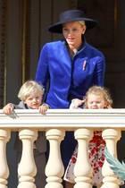 10. Dezember 2017  Erbprinz Jacques und Prinzessin Gabriella von Monaco, die süßen Zwillinge von Fürstin Charlène und Fürst Albert, feiern schon ihren dritten Geburtstag.