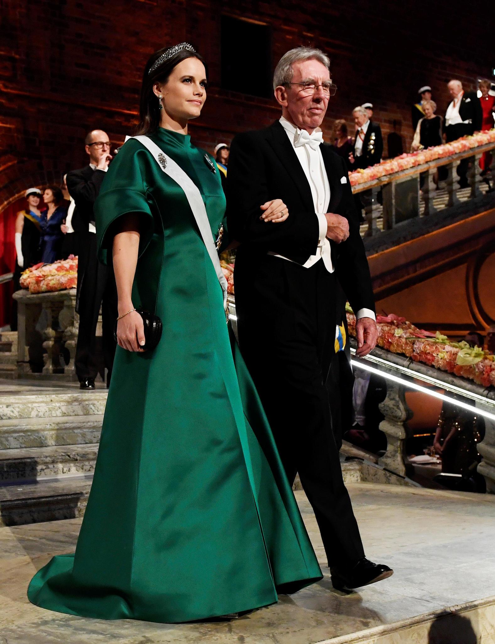 Prinzessin Sofia bei der Nobelpreisverleihung 2016.