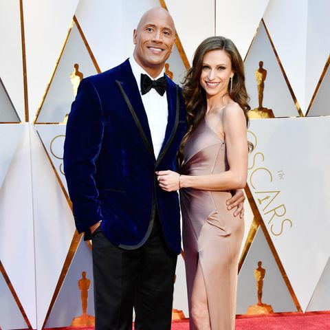 Dwayne Johnson + Lauren Hashian