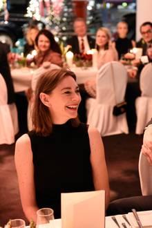 """12. Dezember 2017  In Berlin lud BMW zum """"Weihnachtsdinner 2017"""". Stars wie Christiane Paul freuten sich über die Einladung."""