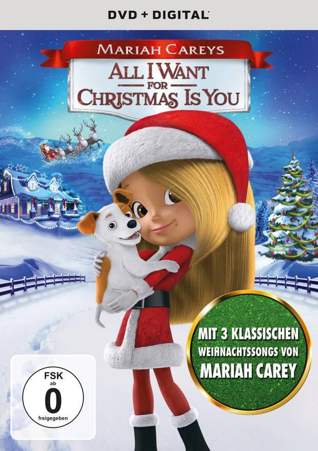 Die DVD zu 'All I Want For Christmas' ist ab sofort im Handel erhältlich