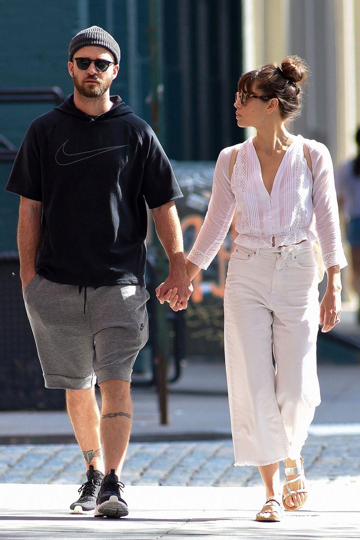 Justin Timberlake undJessica Biel
