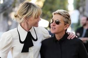 Das passt perfekt! Die Partnerlooks von Ellen Degeneres, Portia de Rossi und Co.