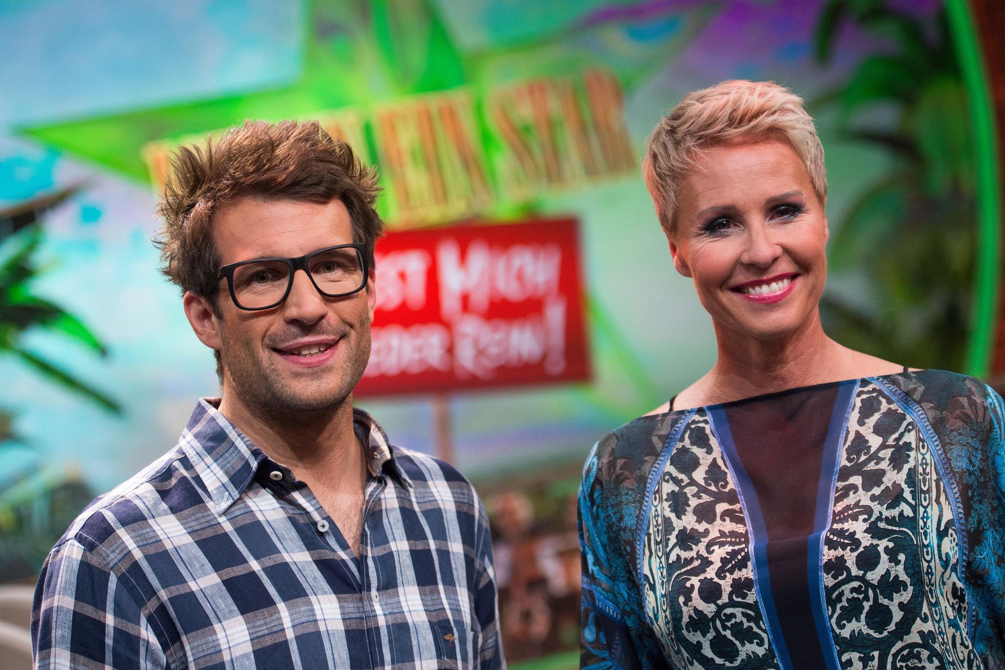 """Die """"Dschungelcamp""""-Moderatoren Daniel Hartwich und Sonja Zietlow"""