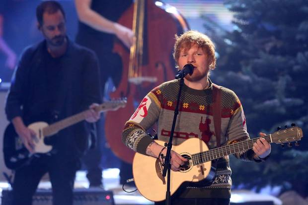 "Ed Sheeran bei ""The Voice of Germany"""