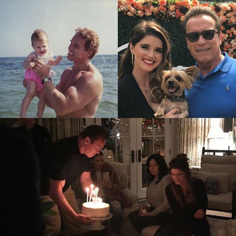14. Dezember 2017  28 Jahre ist Arnold Schwarzeneggers Tochter Katherine mittlerweile alt. Zu ihrem Geburtstag geht der Hollywoodstar dank seiner kleinen Fotocollage mit uns auf Zeitreise.