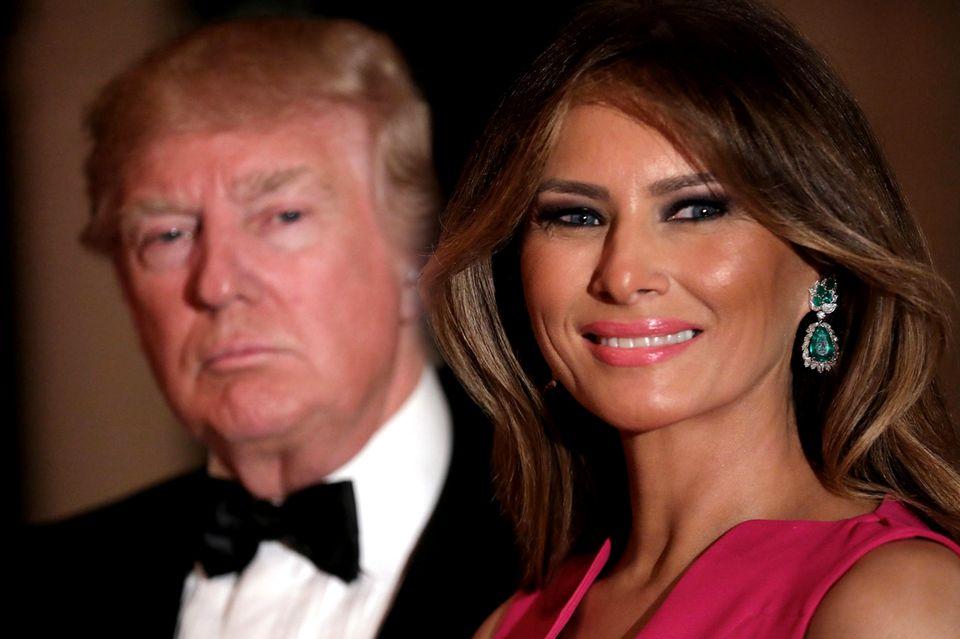 Melania Trump läuft ihrem Ehemann den Rang ab