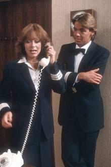"""Das Jahr, in dem alles begann: Heidi Keller als """"Beatrice"""" und Sascha Hehn als """"Stewart Viktor"""" 1981 auf dem """"Traumschiff""""."""