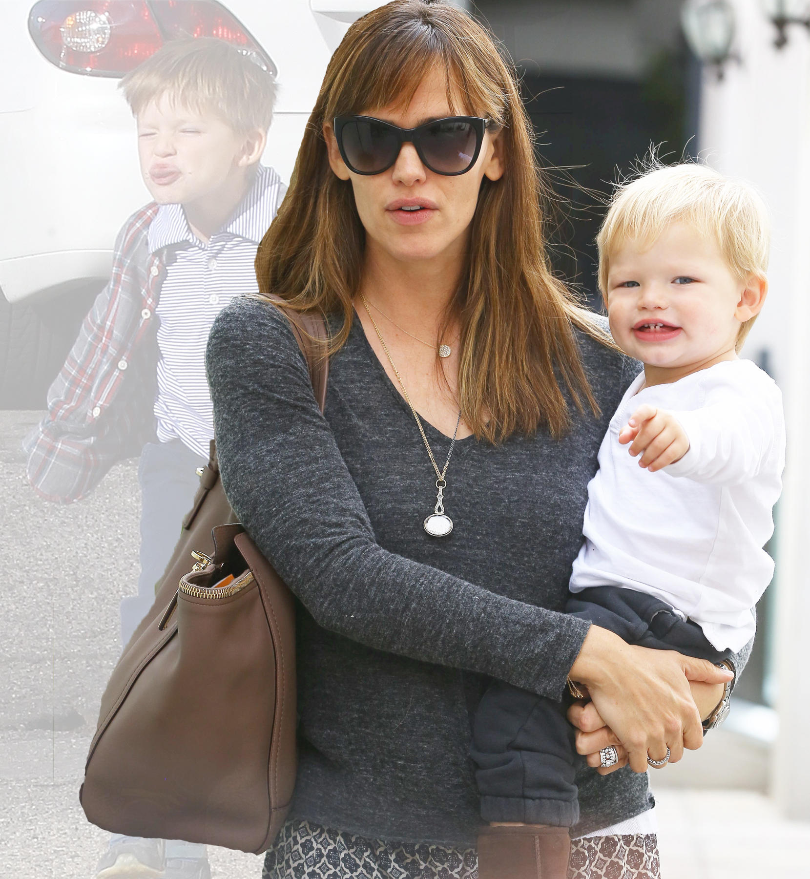 Jennifer Garner und Sohn Samuel