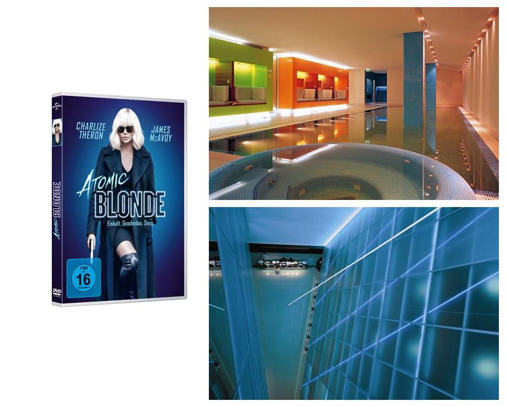 """Unser Gewinn: """"Atomic Blonde"""" für Sie samt eines exklusiven Aufenthalts im wunderschönen 5-Sterne Designhotel SIDE HAMBURG."""