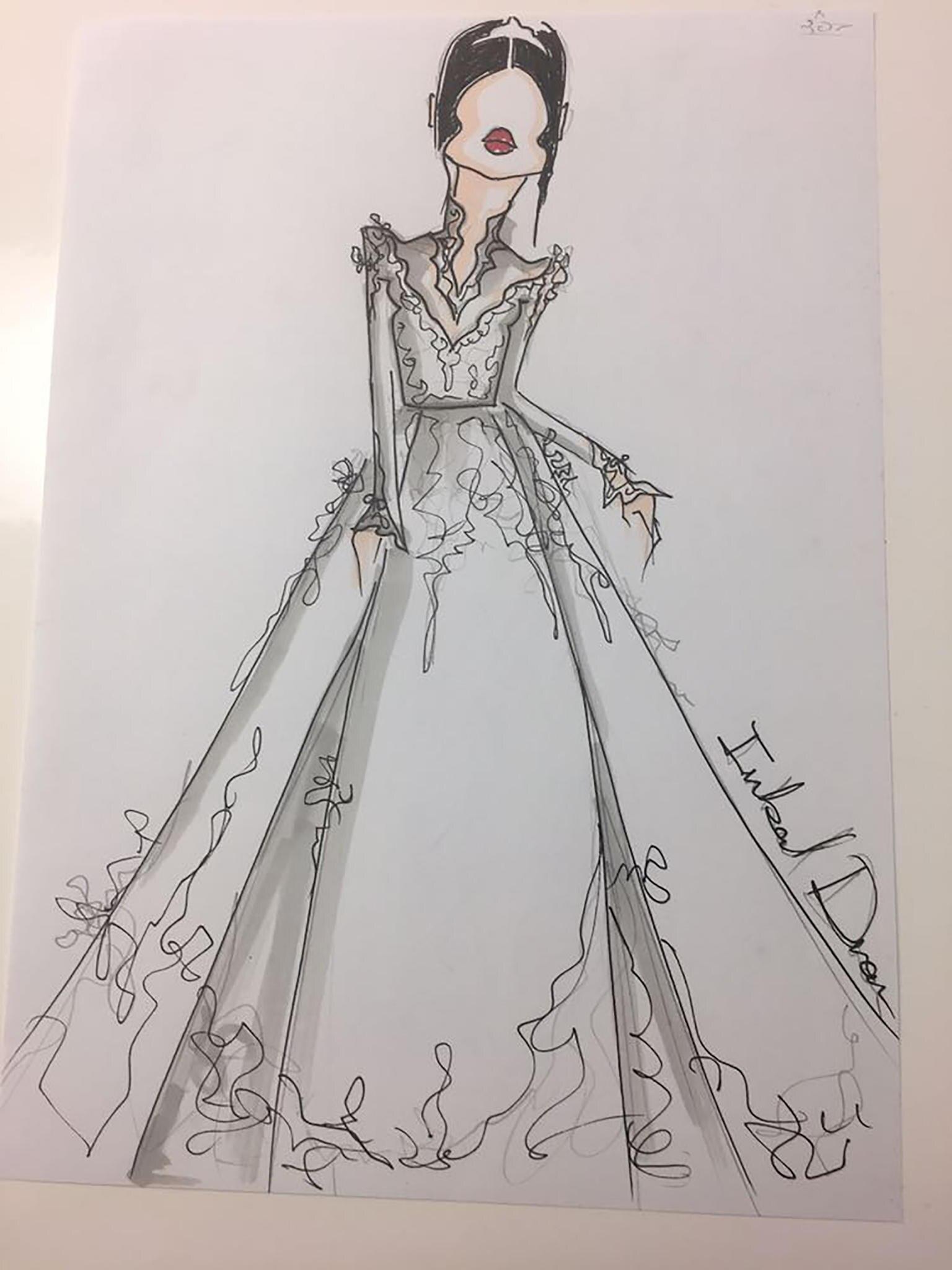 Am 19. Mai werden sich Meghan Markle und Prinz Harry das Ja-Wort geben. Seit der Bekanntgabe ihrer Verlobung interessiert natürlich vor allem ein Thema: Wie wird Meghans Hochzeitskleid aussehen? Nun sind erste Skizzen aufgetaucht.