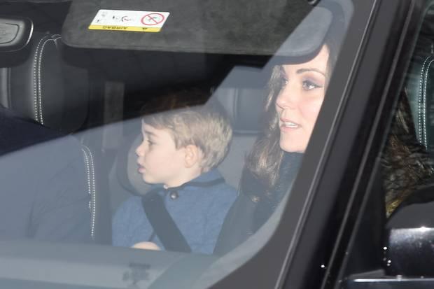 Prinz George ist natürlich auch dabei.