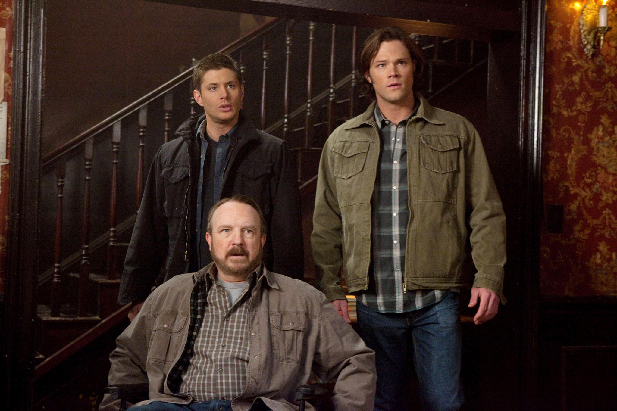 Jensen Ackles, Jim Beaver, Jared Padalecki