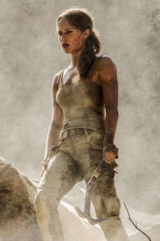 """""""Tomb Raider"""" mit Angelina Jolie war 2001 ein voller Erfolg. Wir wünschen Alicia Vikander, dass sie mit der Rolle der """"Lara Croft"""" in der Neuauflage ebenso erfolgreich ist. Start von """"Tomb Raider"""" ist der 15. März 2018."""