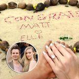 Auch wenn es für Matthew Bellamy bereits der dritte Ehe-Versuch ist, hat er für seine Liebste, Elle Evans, einen ganz besonders schönen Verlobungsring ausgesucht. Der tropfenförmige Stein ist kein klassischer Stein für einen Verlobungsring, funkelt aber mindestens genauso schön.