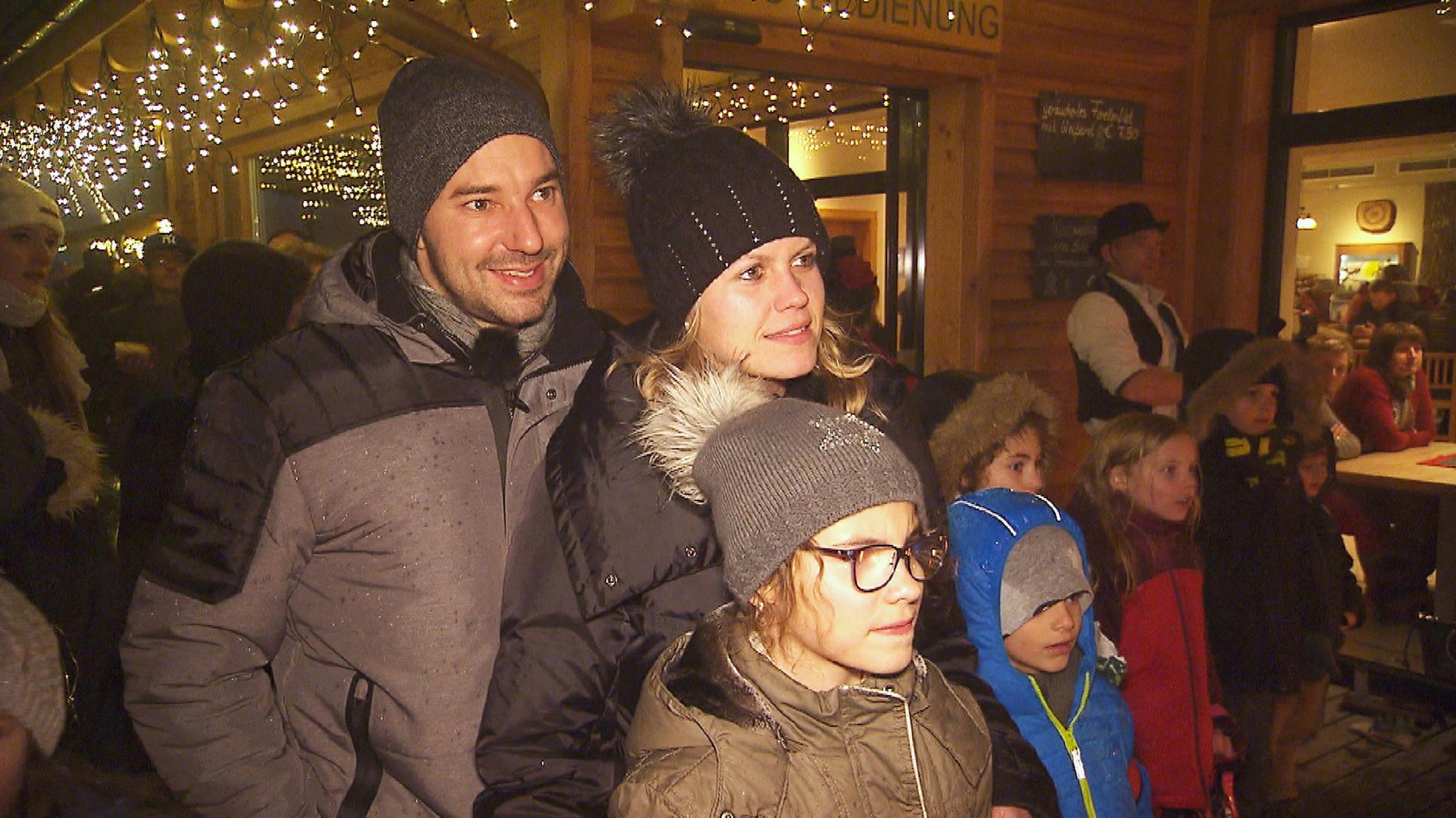 Christian, Barbara und ihre Tochter Katharina
