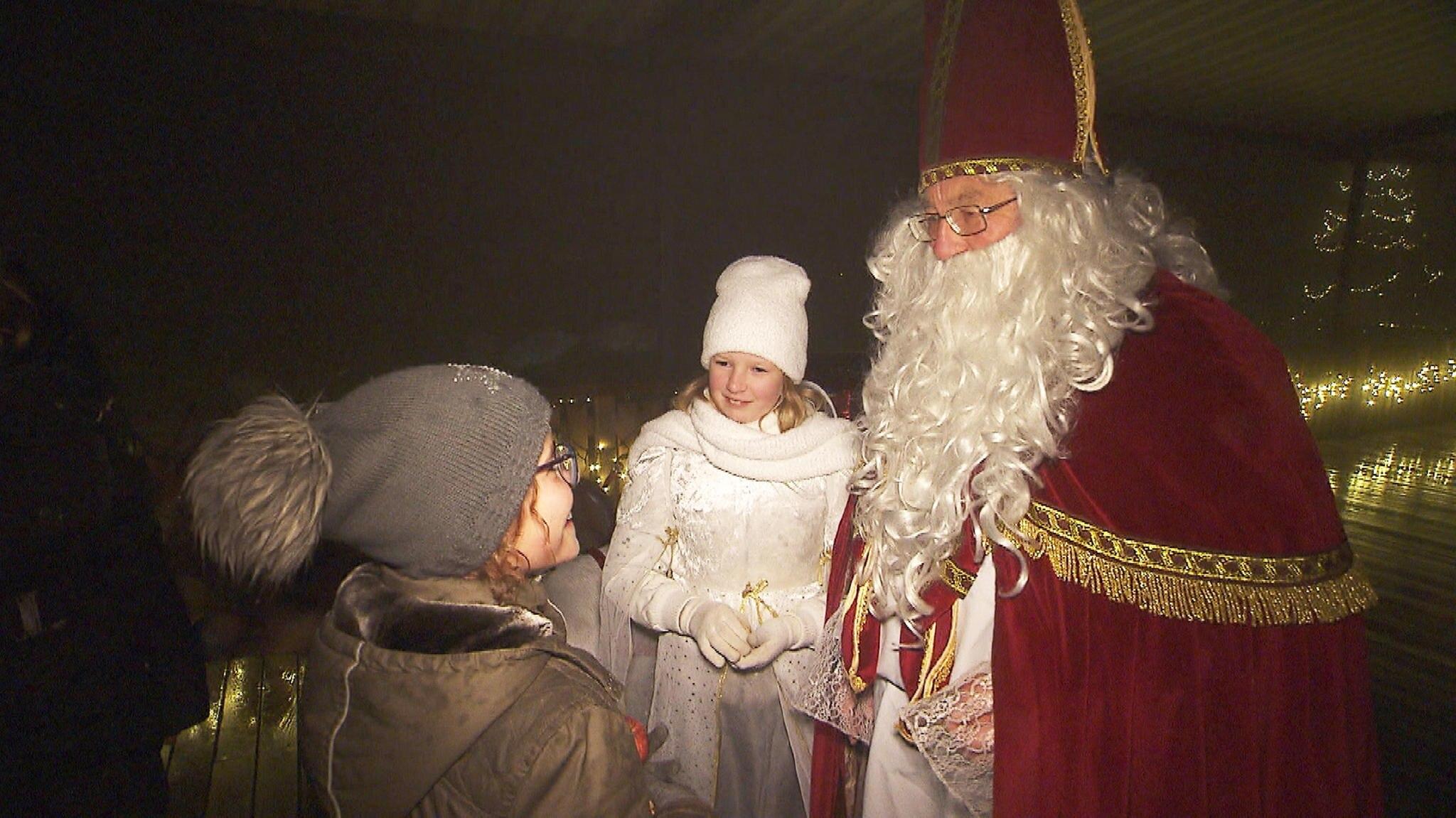 Katharina und der Weihnachtsmann