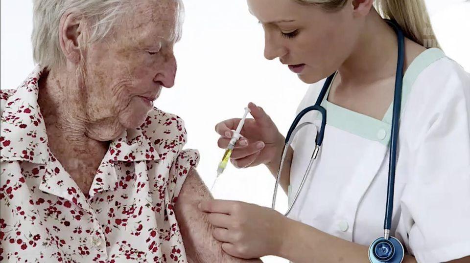 Schutz gegen Grippe