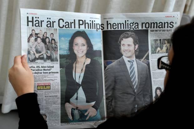 Ganz Schweden sprach damals über das Bikinimodel an der Seite des Prinzen.
