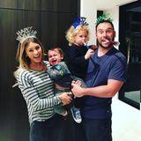 Yael Cohen, Scooter Braun und ihre zwei Kinder