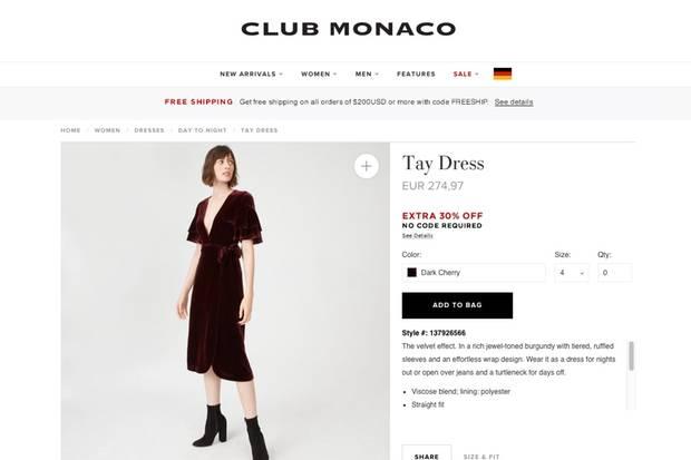 Dieses Kleid soll Meghan Markle unter ihrem Mantel getragen haben.