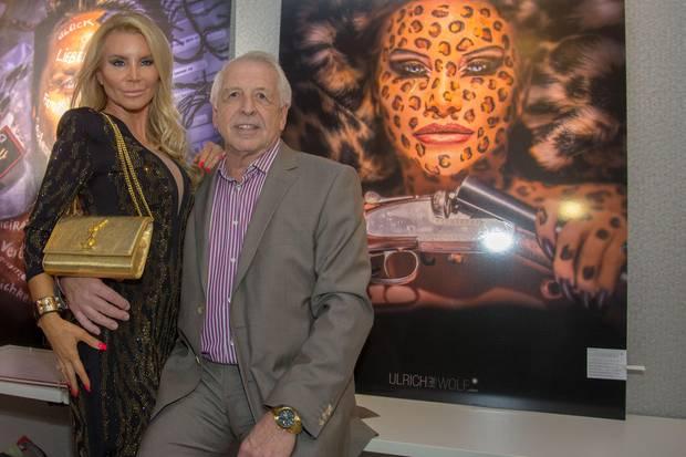 Tatjana Gsell und ihr Ex-Lebensgefährte Herbert Schmitz