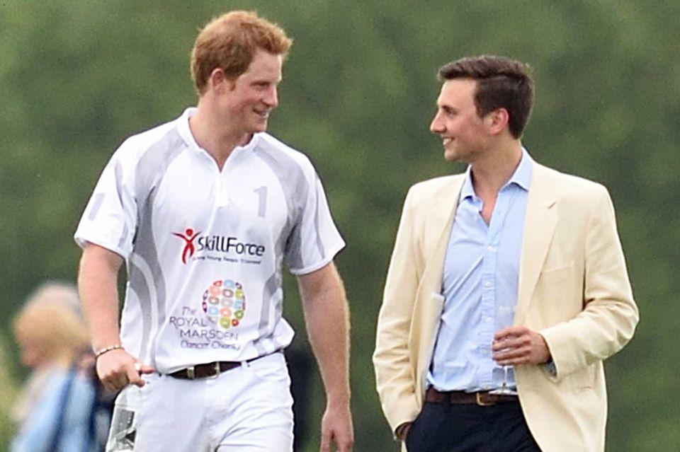 Prinz Harry und Charlie van Straubenzee sind seit ihrer Kindheit befreundet.