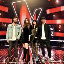 "Die Coaches von ""The Voice Kids"""