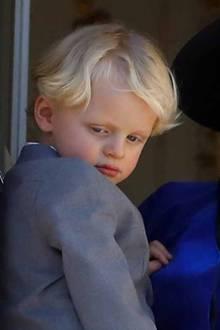 1. Prinz Jacques, Marquis von Baux, der älteste Sohnvon Fürst Albert und Fürstin Charlène