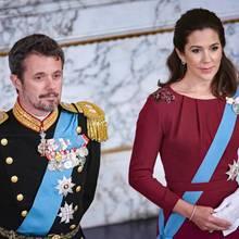 Prinz Frederik + Prinzessin Mary