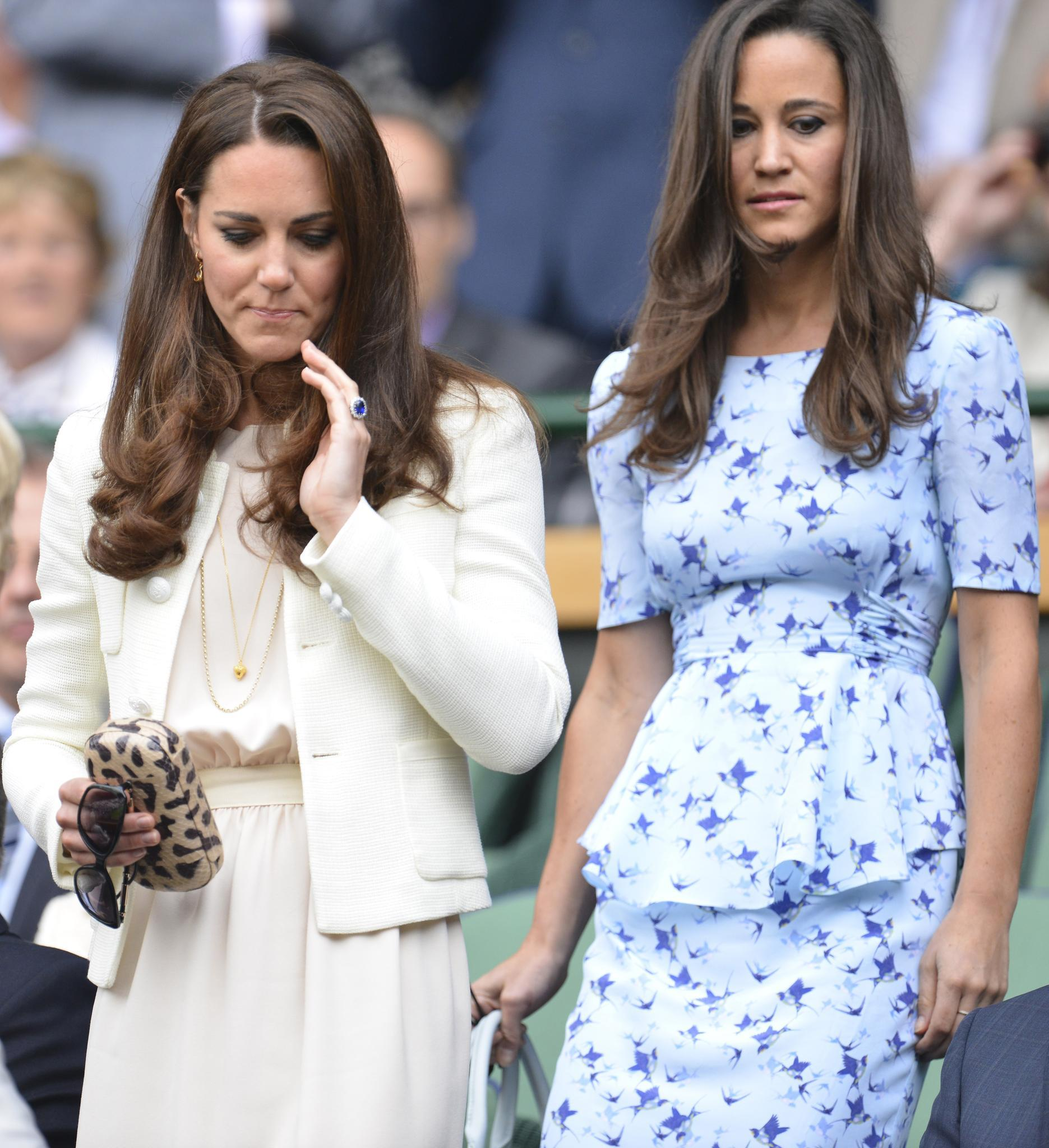 Herzogin Kate + Pippa Middleton