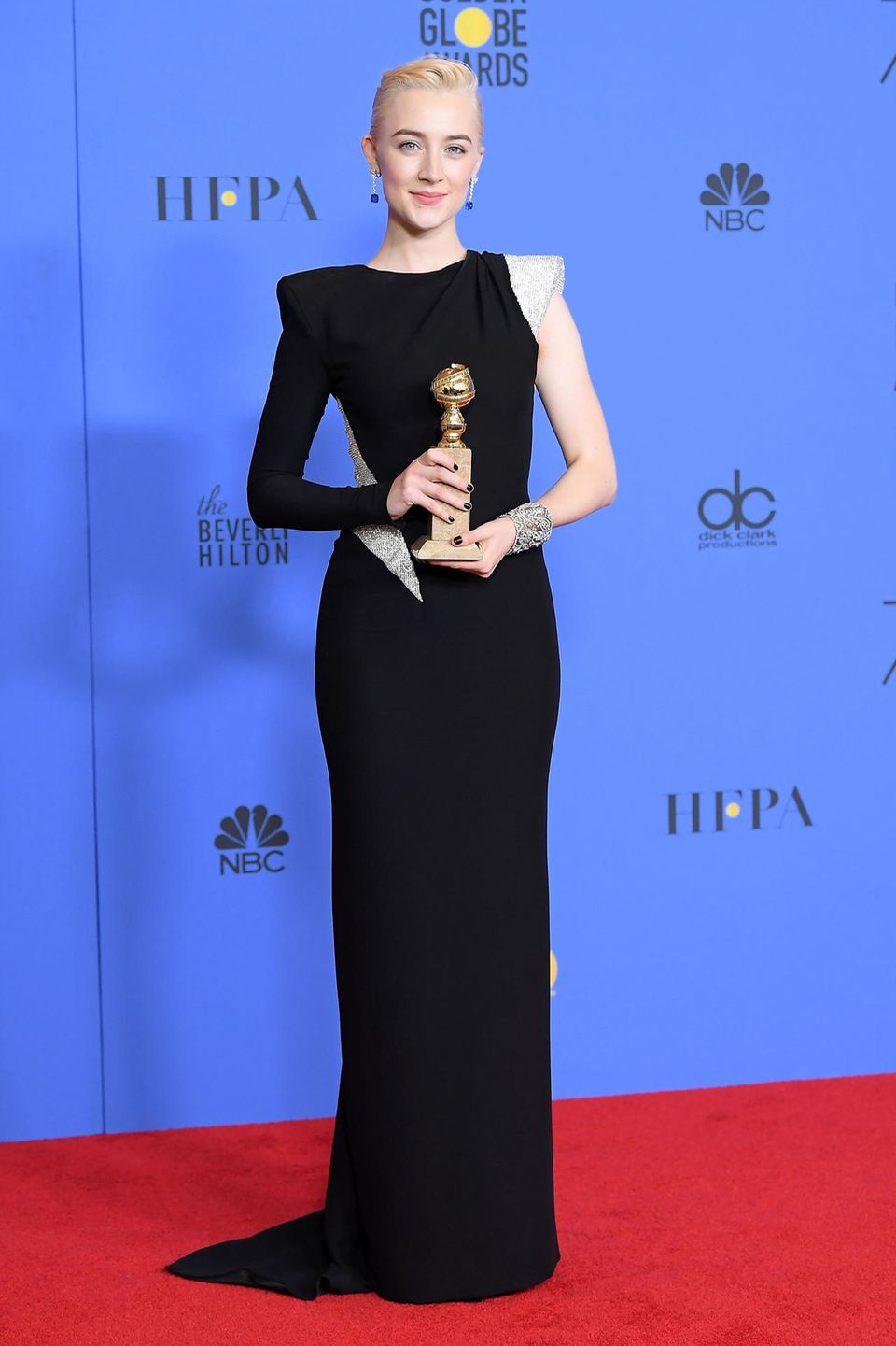 Glamour pur: Saoirse Ronan in Atelier Versace