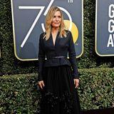 Taillierte Eleganz: Michelle Pfeffer